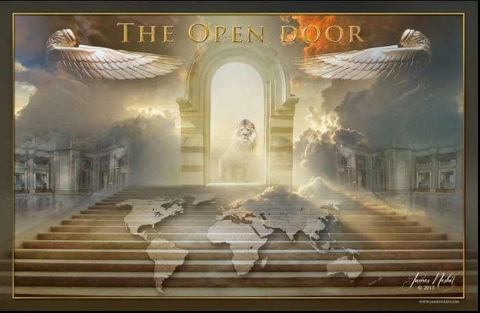 Love For His People The Open Door The Lion Of Judah