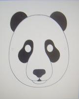 Masque panda gratuit à imprimer