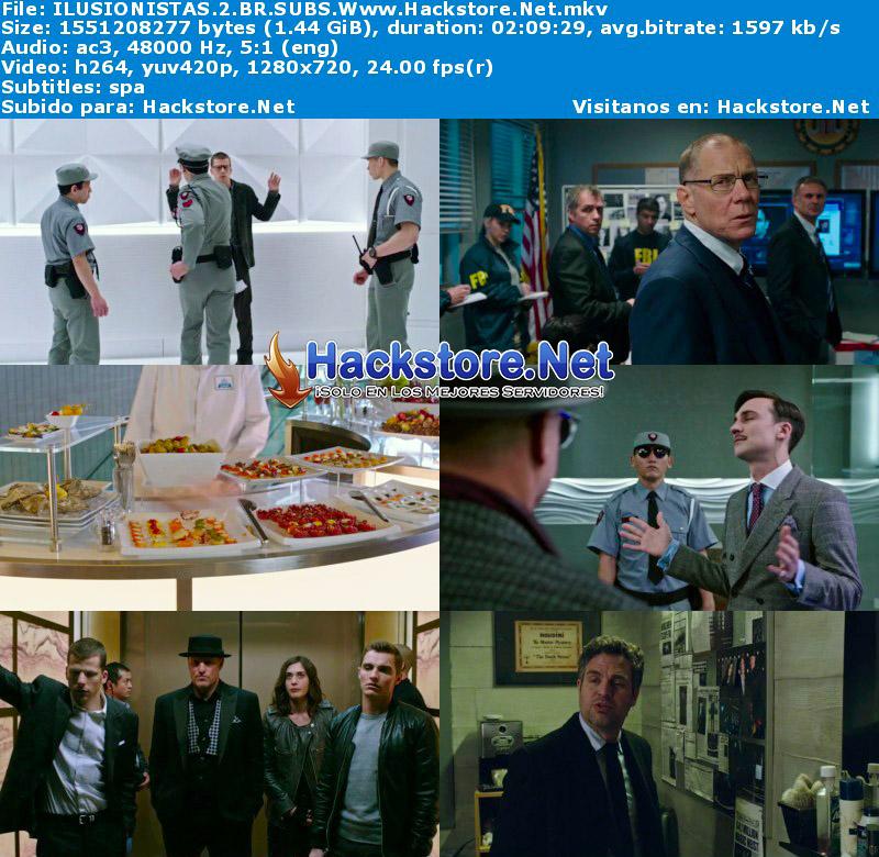 Capturas de Los Ilusionistas 2 (2016) Blu-Ray RIP HD Subtitulada
