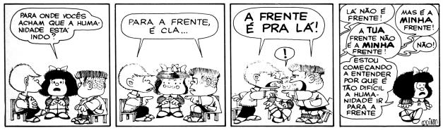 ENEM 2004: A conversa entre Mafalda e seus amigos
