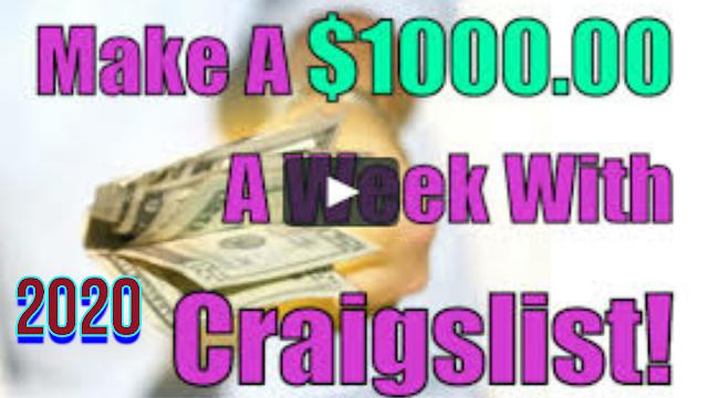Gagner de l'argent avec les enchères de stockage et Craigslist