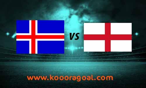 مشاهدة مباراة انجلترا وايسلندا بث مباشر 5-9-2020 دوري الأمم الأوروبية