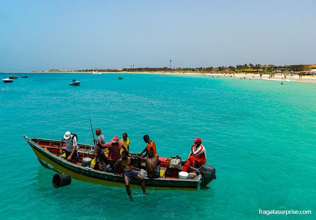 Praia de Santa Maria, Ilha do Sal, Cabo Verde
