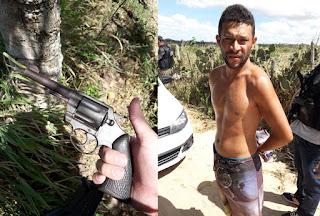 Em Esperança, Polícia Civil prende fugitivo da Cadeia Pública de Picuí