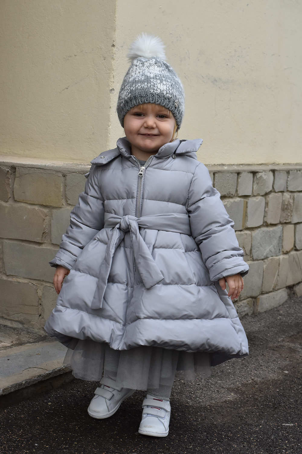 baby outfit grigio