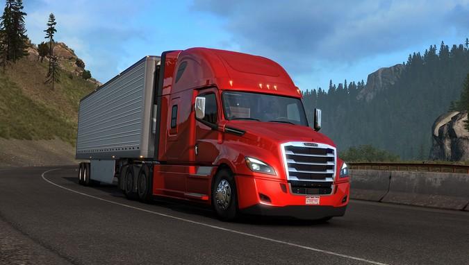 Freightliner Cascadia chega ao American Truck Simulator