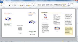 Cara Singkat Membuat Brosur dengan Microsoft Word