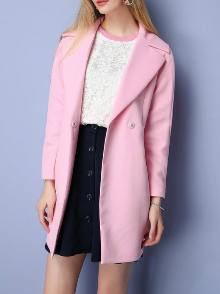 https://www.stylewe.com/product/pink-lapel-pockets-long-sleeve-coat-83721.html