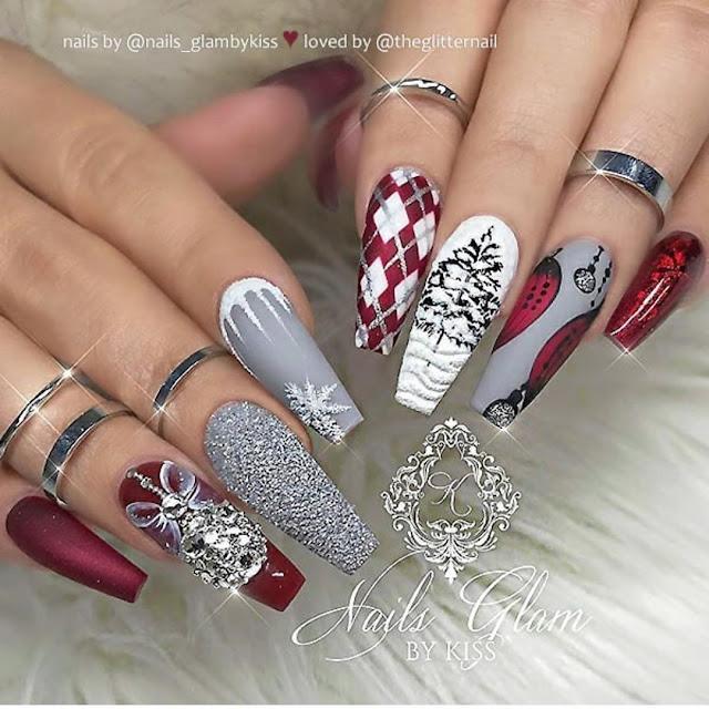 2019 Varieties of Beautiful Nail Designs