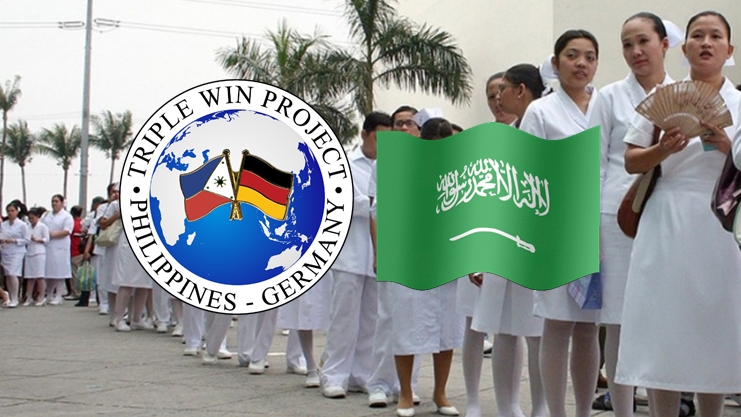 Germany, Saudi Arabia in need of 1,350 Filipino nurses