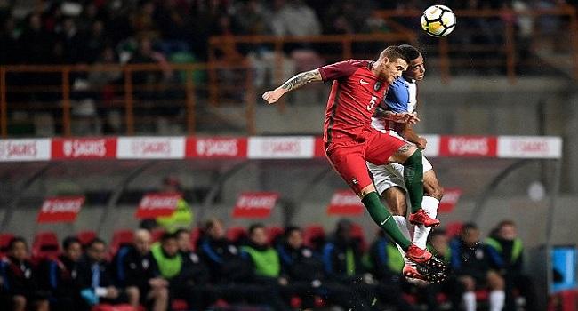 cuplikan gol portugal vs amerika 1-1