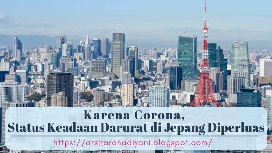 Karena Corona, Status Keadaan Darurat di Jepang Diperluas