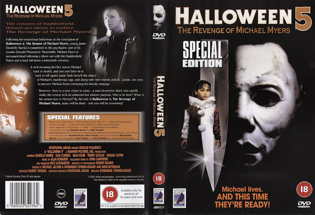The Horrors of Halloween: HALLOWEEN 5: THE REVENGE OF MICHAEL ...