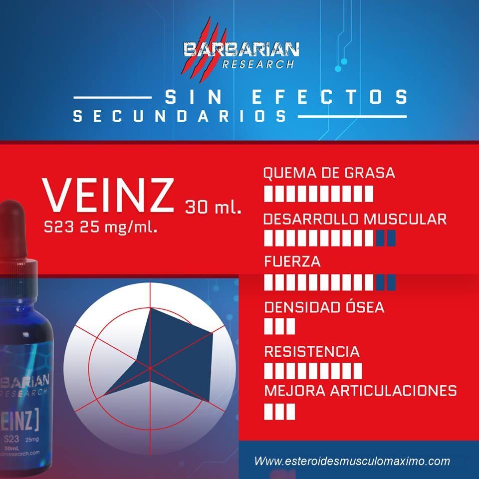 Veinz 30 ml - precio ( $700 pesos ) S23   Musculo Musculo