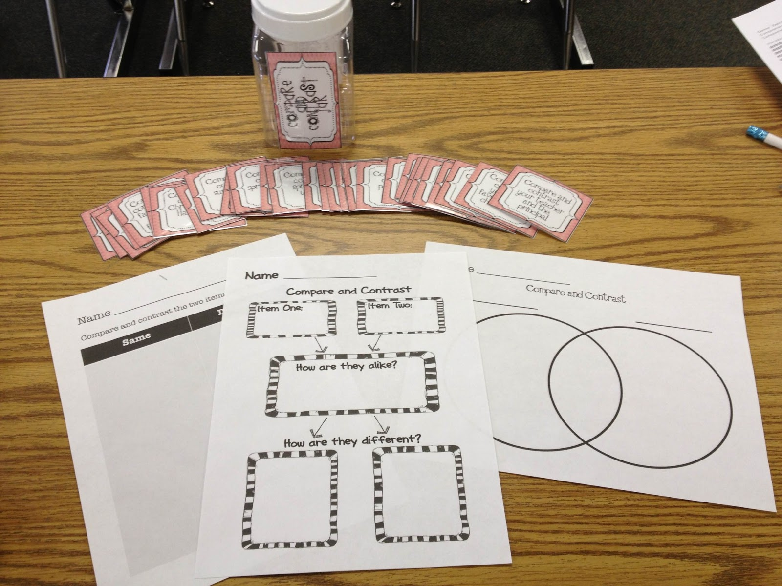 Pencils Books And Dirty Looks Reading Comprehension Activities