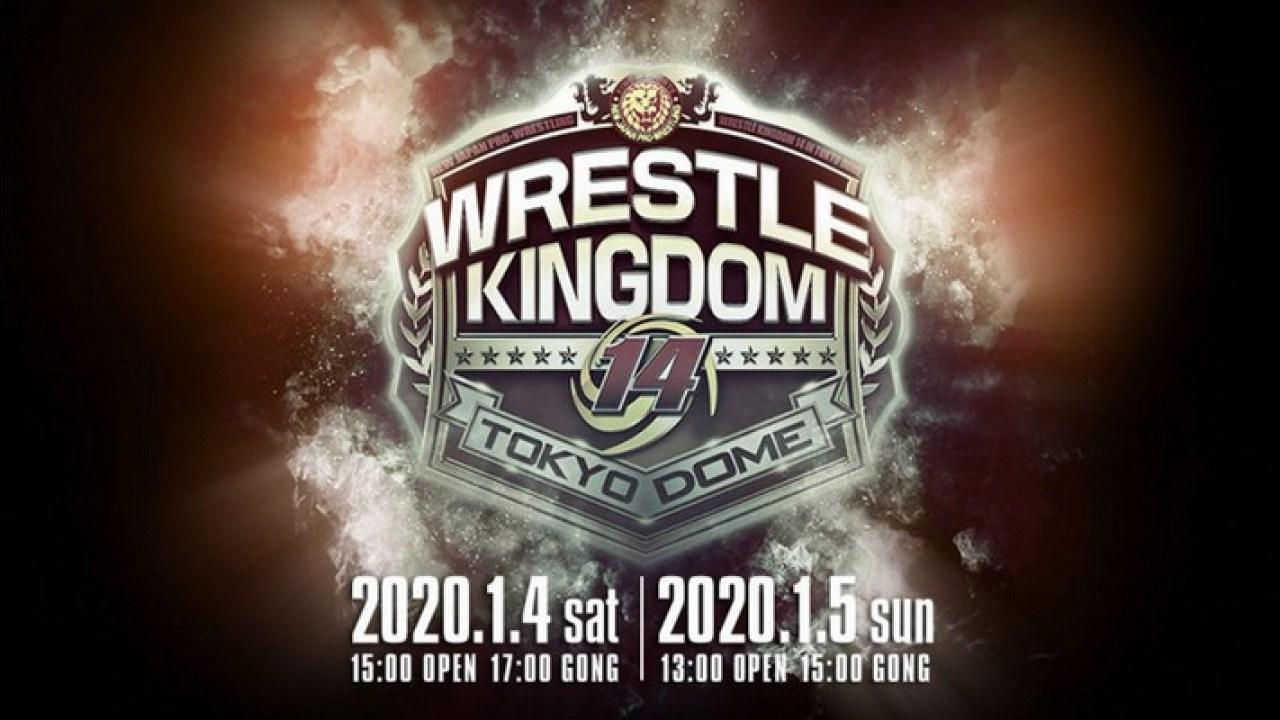 NJPW Wrestle Kingdom 14 in Tokyo Dome: Card final para os dois dias!