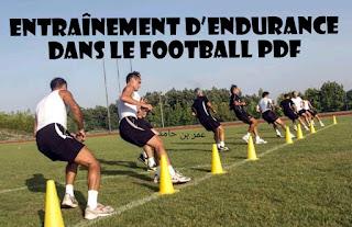 Entraînement d'endurance dans le football