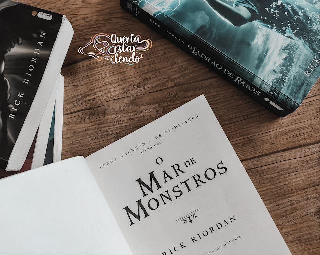 Resenha: O Mar de Monstros - Rick Riordan