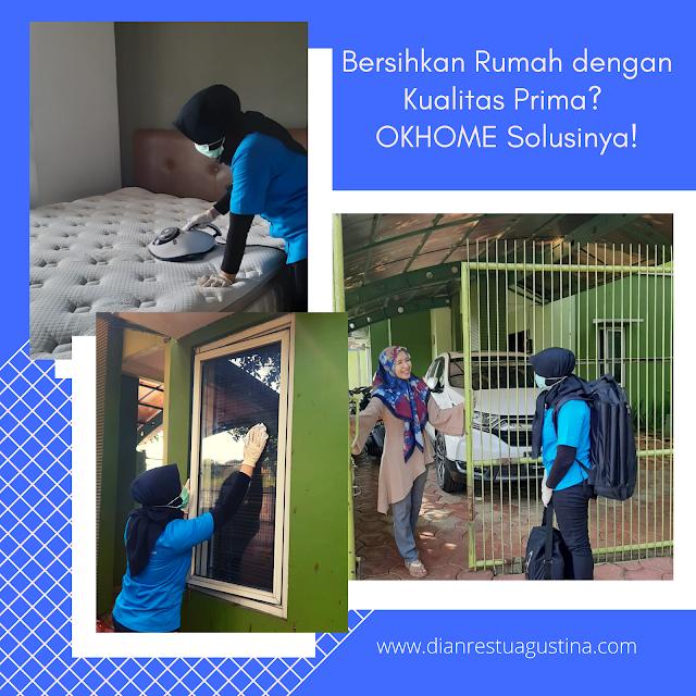 Jasa Pembersihan Rumah OKHOME