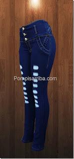 pompis arriba jeans en donde venden pantalones colombianos en Mérida