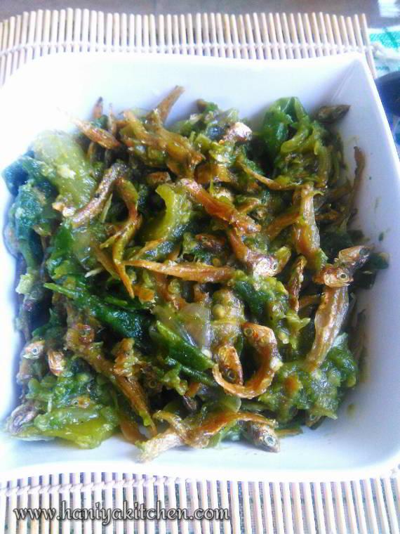 resep sambal teri cabai hijau mudah dan lezat