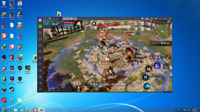 Bluestack Multi Instance di Lineage 2 Revolution Indonesia
