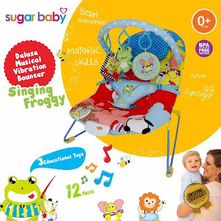 Sugar Baby Bouncer Singing Froggy