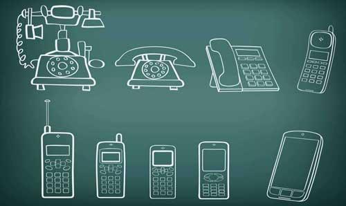 Evolusi Handphone dari Tahun ke Tahun