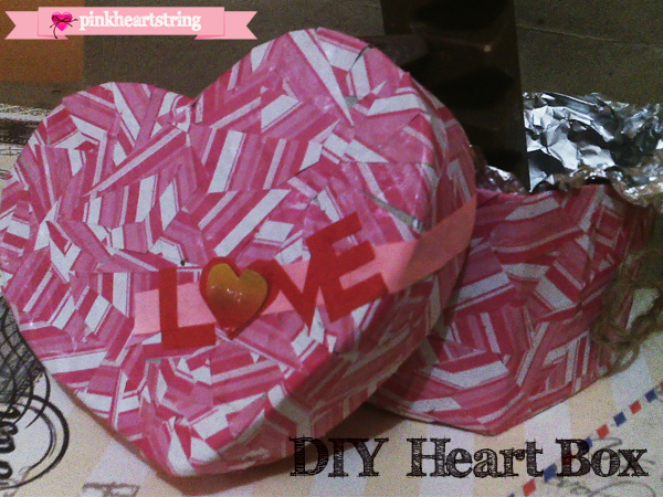 DIY Mosaic Heart Box