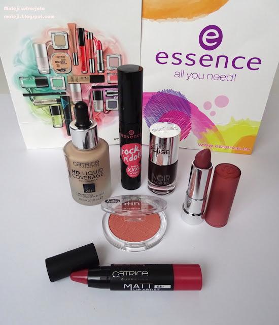 Catrice, Essence, mat šminka, matte lipstick