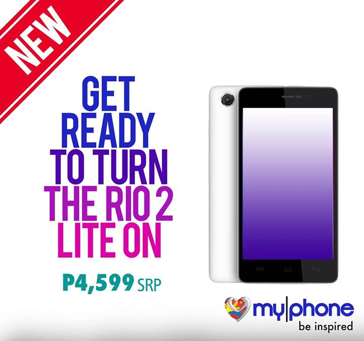 MyPhone RIO 2 Lite Specs, Price and Availability