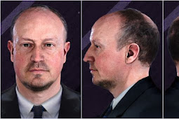 Rafael Benitez Manager Face - PES 2020