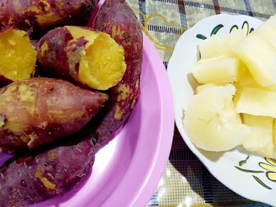 Dah Lama Tak Makan Ubi Dan Keledek Rebus