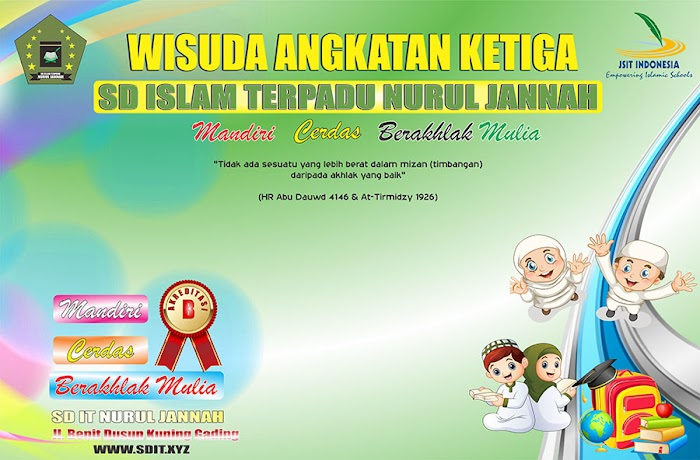 Wisuda Tahfidz Angkatan 3 SD IT Nurul Jannah
