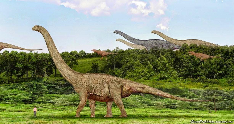 Dinosaurus Argentinosaurus