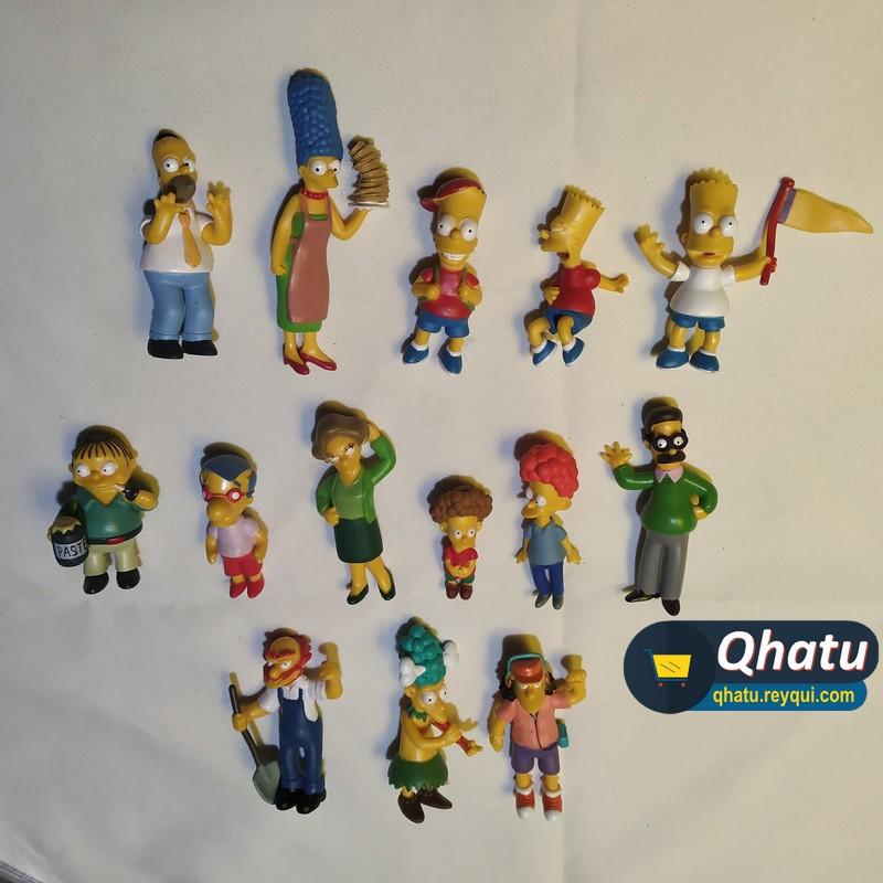 (Bs. 165) Figuras de Los Simpson en colección: 14 modelos