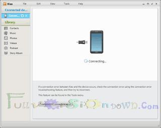 Free Download Samsung Kies 2.6.4.16084 Latest Version