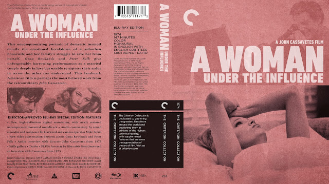 A Woman Under Influence Bluray Cover