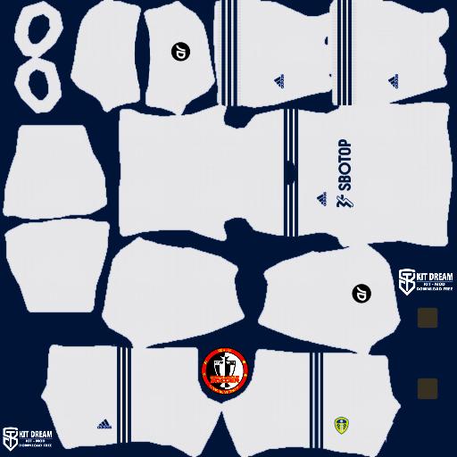 Kits Leeds United 2021 - Dream League Soccer 2021