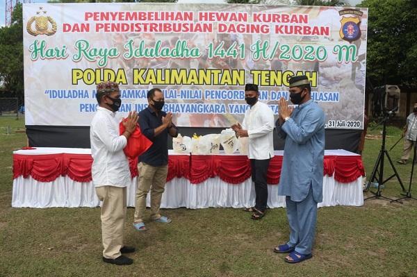 Kombes Pol Hendra Rochmawan Berharap di Hari Raya Idul Adha dapat Meningkatkan Soliditas antara Polda Kalteng dan Insan Pers