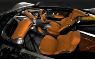 Interior Yamaha Sport Ride Concept