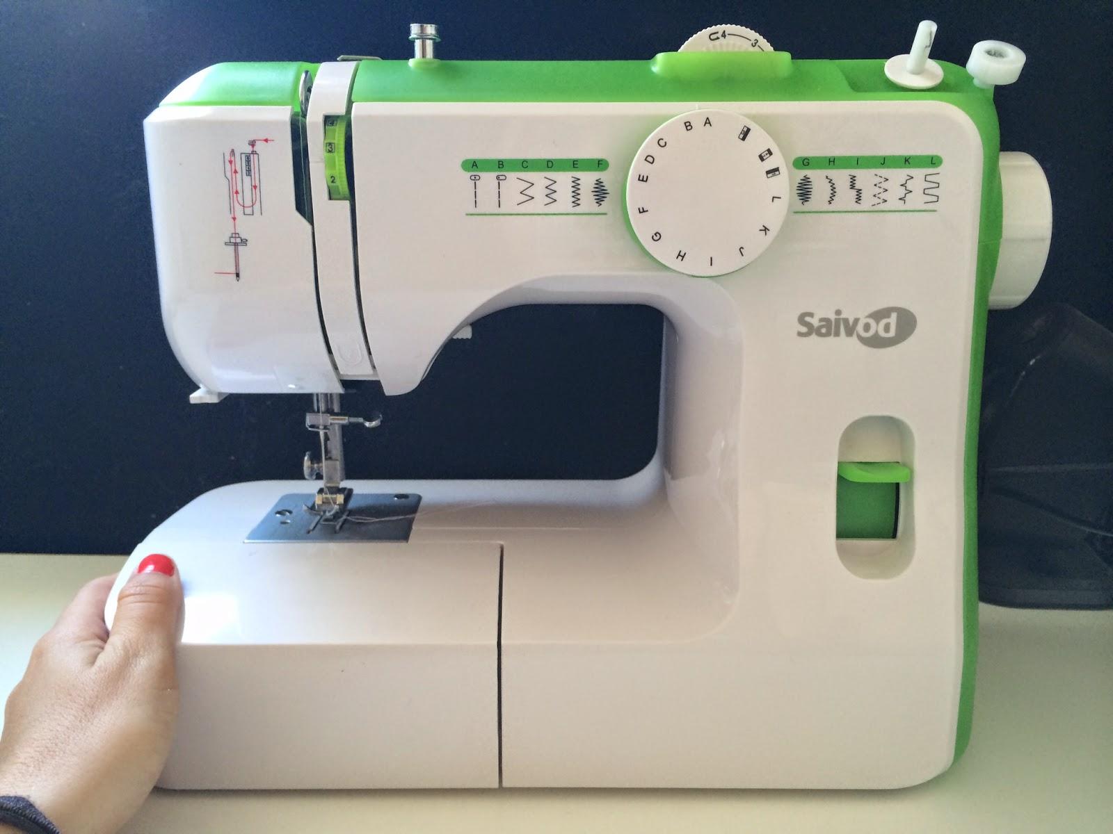 El blog de Lorenna: Máquina de coser para principiantes