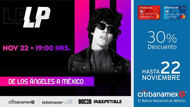 """De los Ángeles a México, LP presentará un concierto virtual """"Irrepetible"""""""