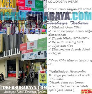 Lowongan Kerja Surabaya Terbaru di Media Gadget Accessories Juni 2019