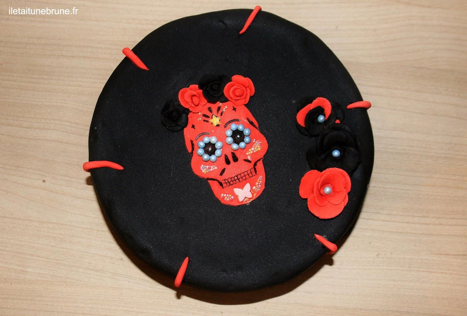 Recette Calavera cake
