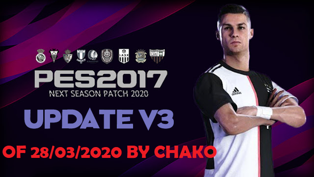 PES 2017 OF For Next Season Patch Update 3  by chako
