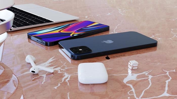 海軍藍 iPhone 12 概念渲染圖欣賞:重回經典蘋果設計