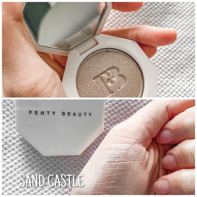 fenty sand castle