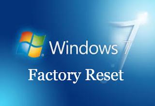 Cara Mengembalikan Windows 7 Ke Pengaturan Pabrik
