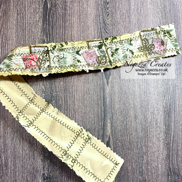Junk Journal With Stampin' Up! Snippet Roll & Clusters